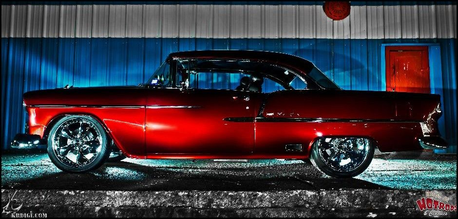 1955 Chevy BelAir Hot Rod Restomod Project Restomod