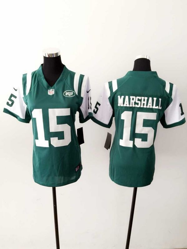 wholesale dealer 9e5a9 b7834 NFL New York Jets  15 marshall green Women Jersey