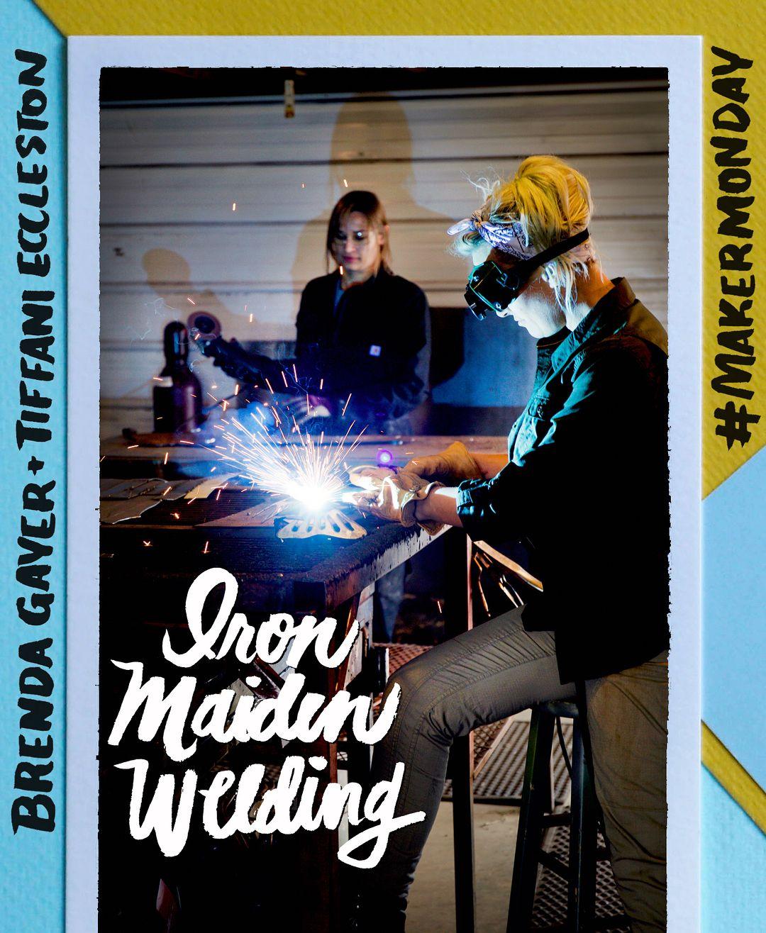 Iron Maiden Welding, a small business in Bozeman, Montana