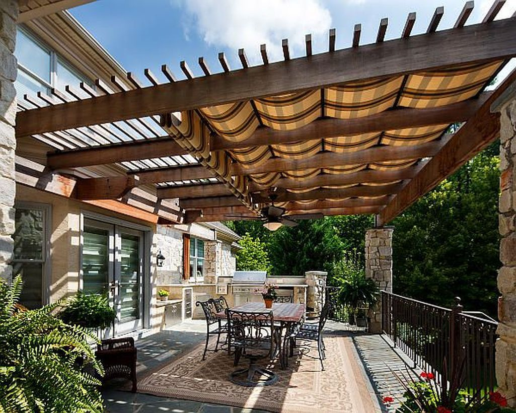 Photo of 47 Charming Covered Pergola Design Ideas On A Budget