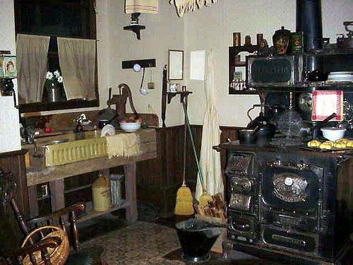 Victorian Era Kitchen Vintage Stoves Dolls House Interiors