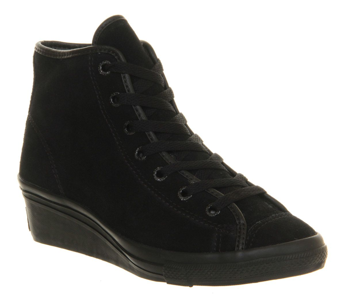 979d7941121b Converse All Star Hi-ness Black Mono Shearling Exclusive - Hers trainers