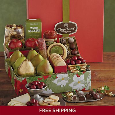 Holiday Founders Favorites Gift Box Gift Boxes Harry David Favorite Things Gift Holiday Gift Baskets Harry And David