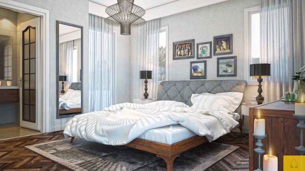 Yatak Odası Tasarımı (De Penintdesign İç Mimarlık )