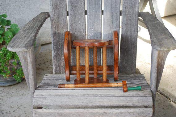 Vintage Primitive Yarn String Wool Winder Wooden. $110.00, via Etsy.