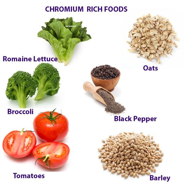 CHROMIUM MINERAL HEALTH BENEFITS, DEFICIENCY AND RICH FOODS