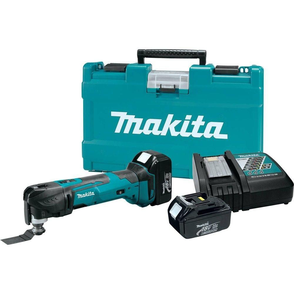 Makita 18-Volt LXT Lithium-Ion Cordless Multi-Tool Kit