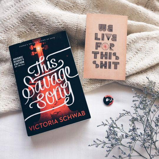 """This Savage Song"" by Victoria Schwab // out 06.07.16"