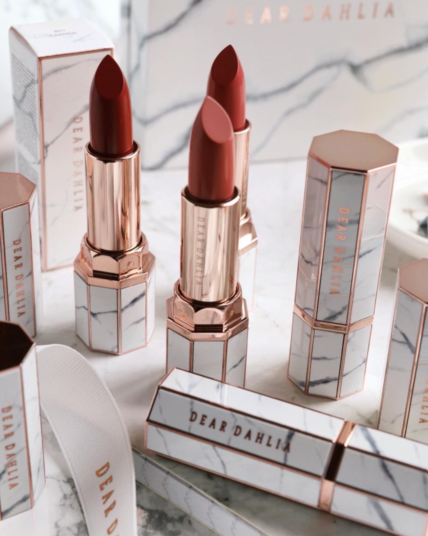 Dear Dahlia Lipsticks Luxury makeup, Lipstick