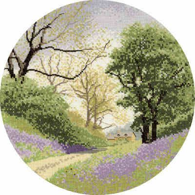 Heritage Crafts John Clayton Daffodil Wood Cross Stitch Chart