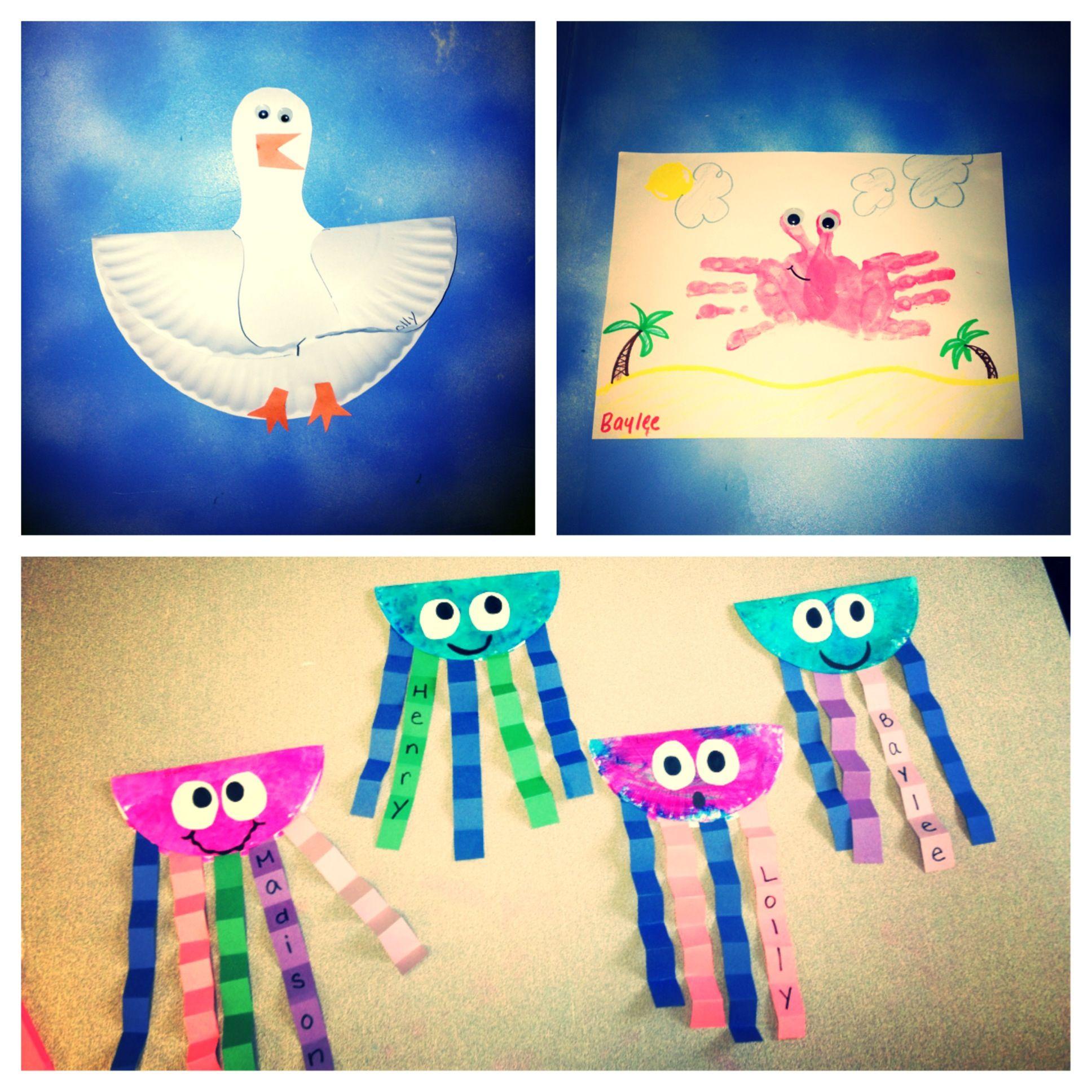 summer kids crafts beach crafts cute crafts kids beach