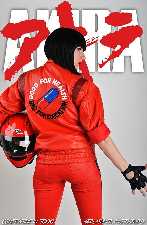 Akira Shotaro Kaneda Cosplay Costume Motorcycle Clothing Jacket | Cosplay  and Kid icarus