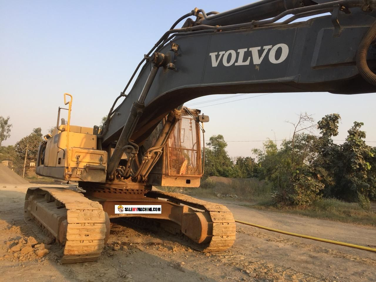 USED VOLVO 480 WITH BREAKER FOR SALE IN ODISHA INDIA ALWAYS
