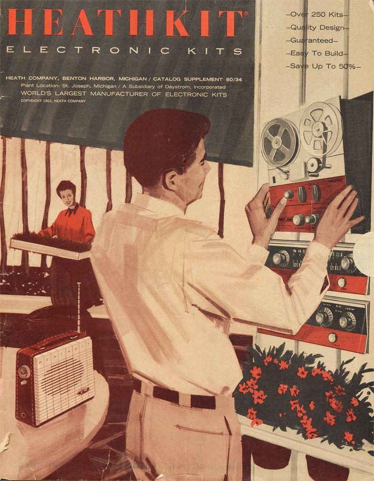 1963 Heathkit catalog in Reel2ReelTexas.com vintage reel to reel tape recorder collection