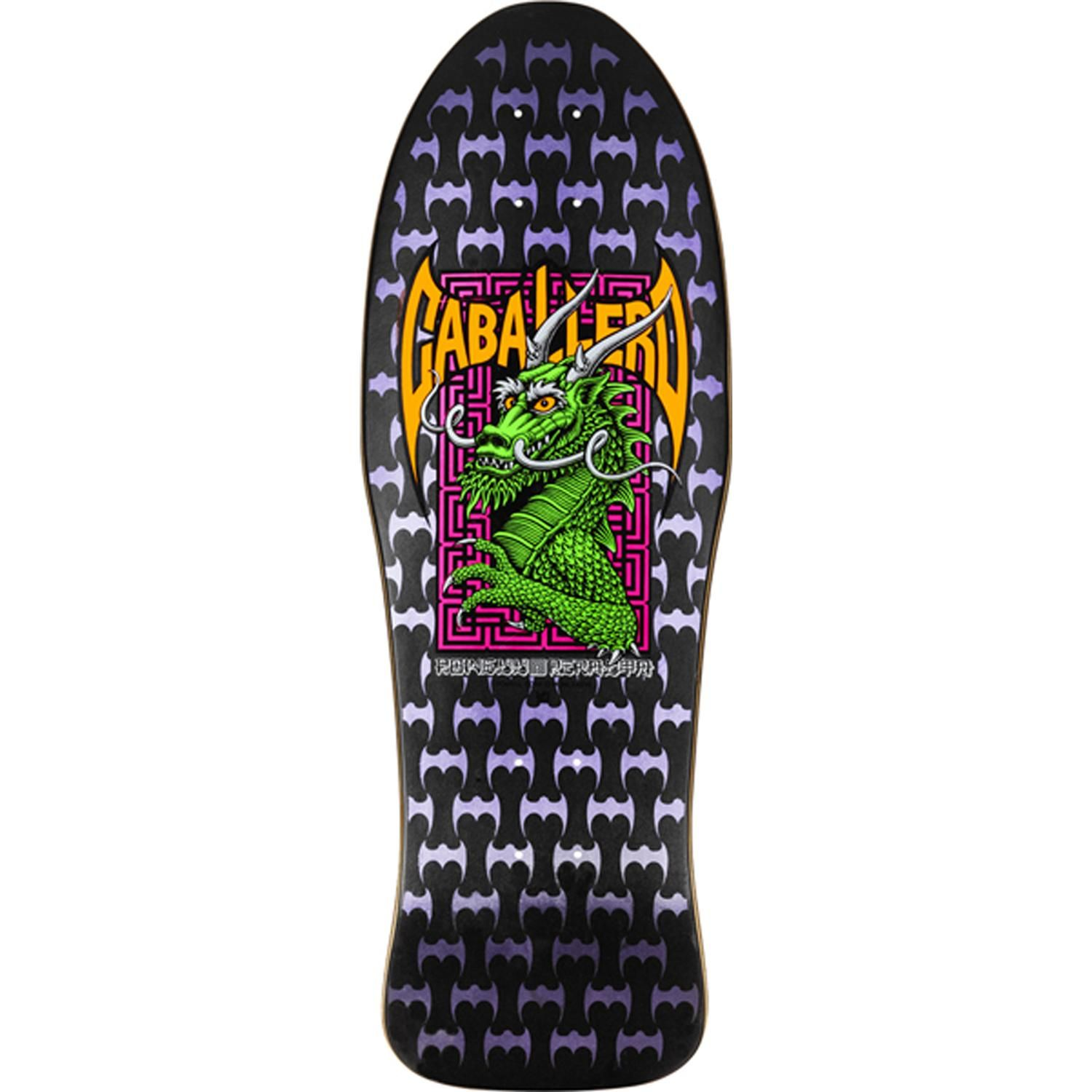 Powell Peralta Caballero Street Skateboard Deck - Probably the nicest deck  design from the 90's.