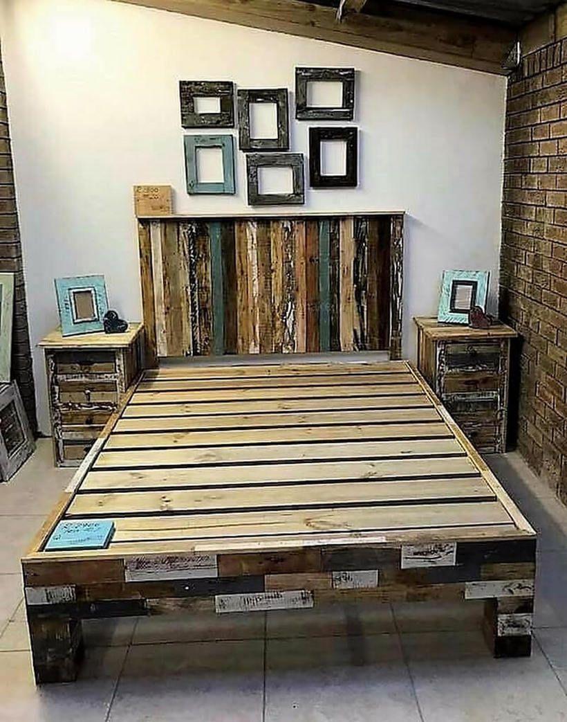 14++ Bedroom pallet furniture ideas