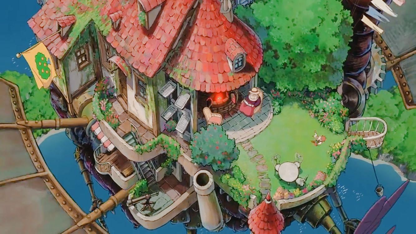 Ghibli おしゃれまとめの人気アイデア Pinterest Luca ハウル ハウルの動く城 城