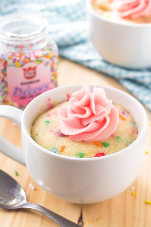 VANILLA MUG CAKE in 2020 | Mug recipes, Vanilla mug cakes ...