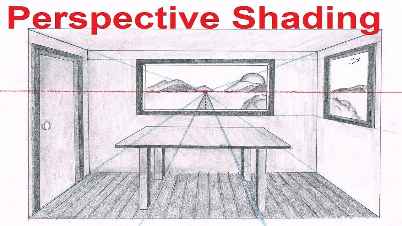 Linear Perspective Drawing Lesson 6 6 One Point