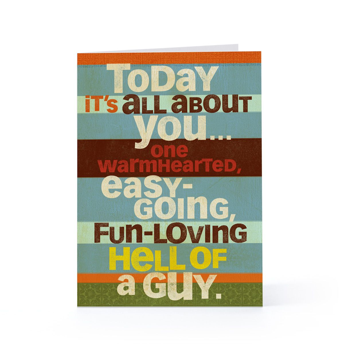 Cool Birthday Wishes For A Guy ~ Happy birthday card with wishes for man birthdays
