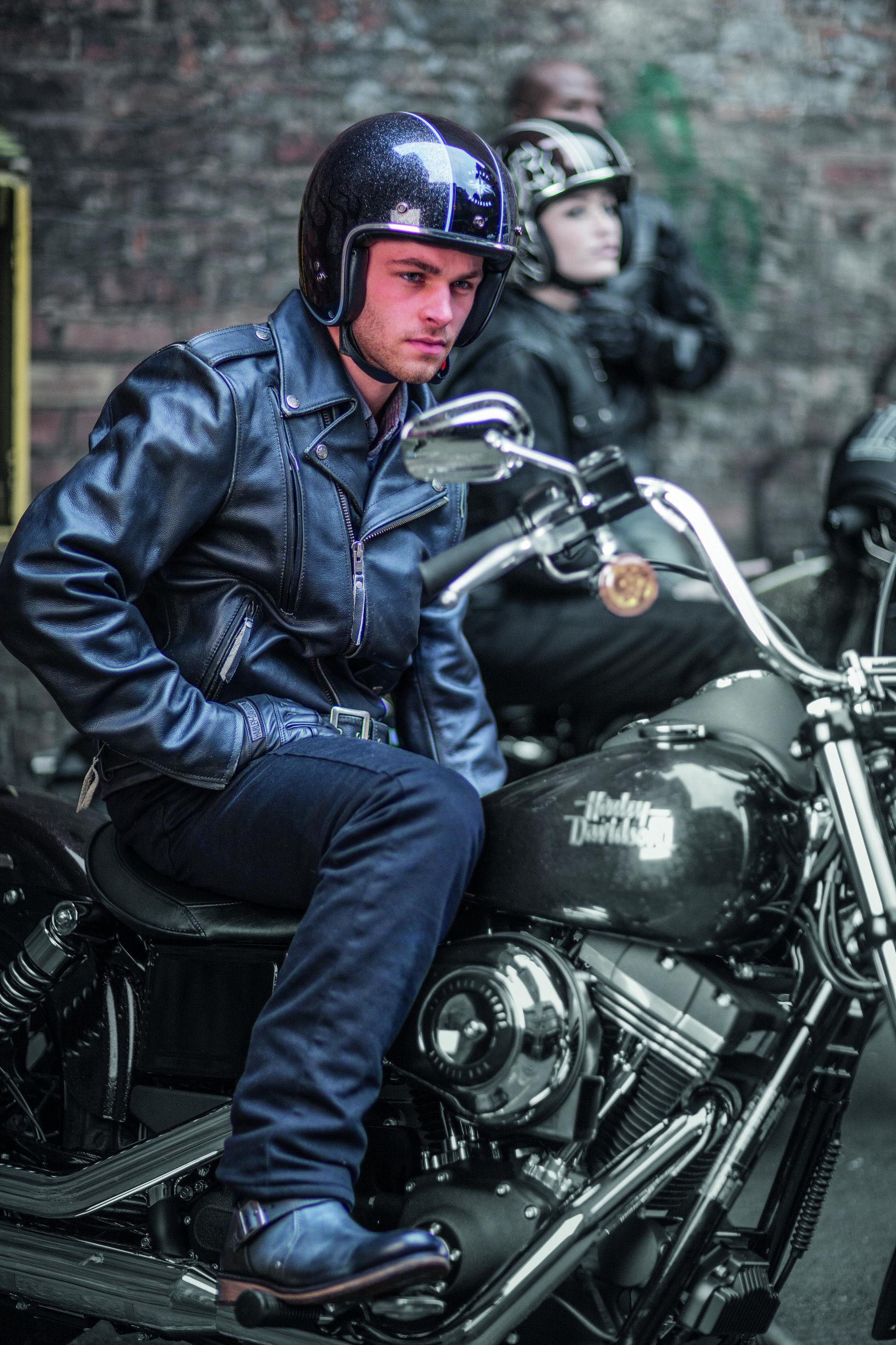 Riding Denim Harley Davidson Motorclothes Man Riding Denim Motorcycle Leather Harley Davidson Merchandise