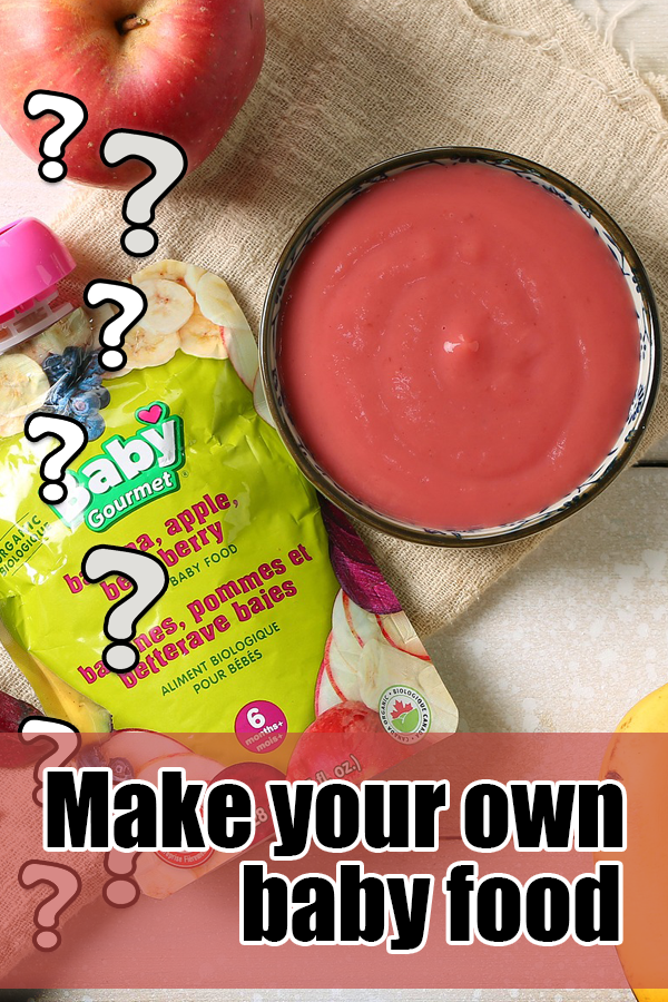 Why I Make my Baby Food (With images)   Baby food recipes ...