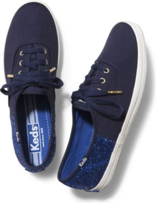 blue sparkle keds