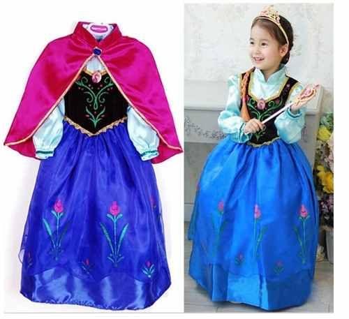 da8e5ac6d51a fantasia vestido luxo frozen anna frete grátis no brasil | Fantasias ...