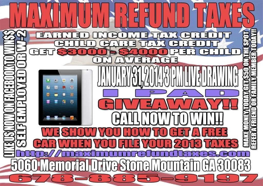 Free Apple IPad Giveaway!! New Client Appreciation
