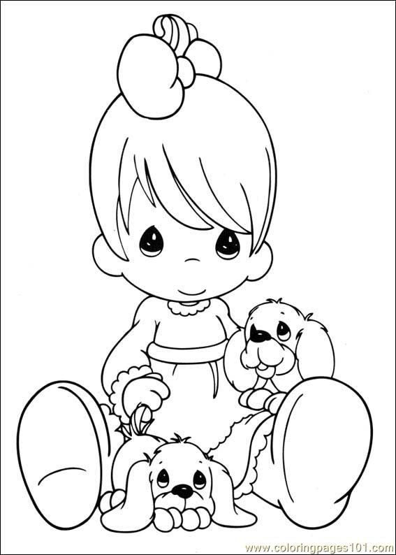 Coloring Pages Precious Moments 37 (precious moments) - free ...