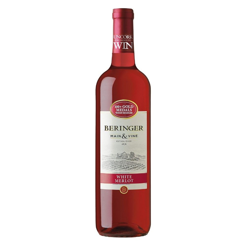 Beringer White Merlot Red Wine 750ml Bottle In 2020 Merlot Red Wine White Merlot Red Wine