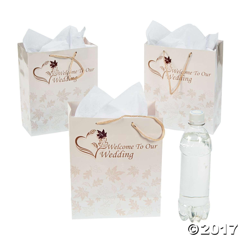 Medium Fall Wedding Gift Bags | Bag, Gift and Weddings