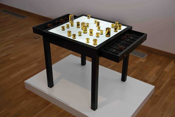 PROJECTB CONTEMPORARY ART | THE ART OF CHESS | A good short synopsis of the exhibit, 2010