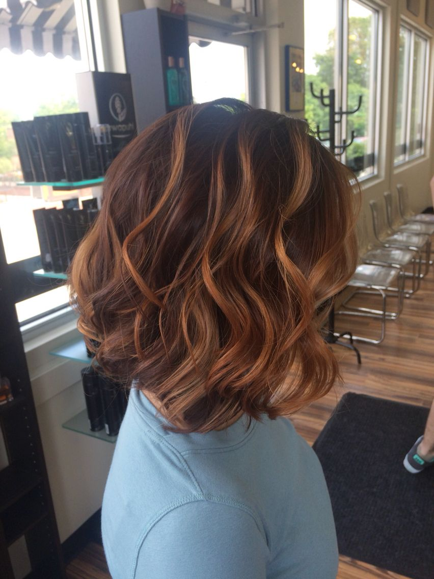 Caramel Chocolate Balayage Colormelt In 2019 Hair Color