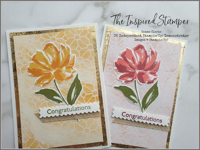 Stampin'Up! Fine Art Floral Card