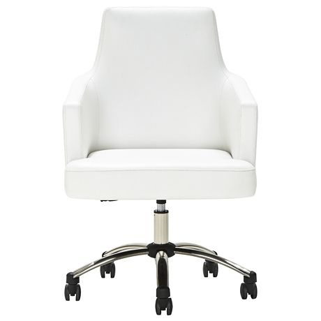 living spaces office furniture. delta office chair pu in polyurethane white 299 product code 23276192 living spaces furniture p