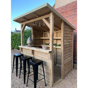 Wooden Garden Bar at Drinkstuff