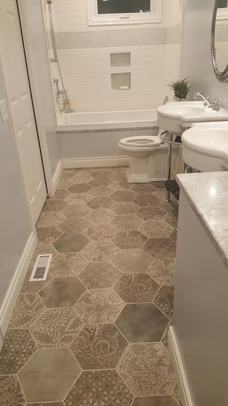 Lowe's 10X12 Tilelove This Pattern  Tile  Pinterest Glamorous Lowes Bathroom Tile Designs Design Inspiration