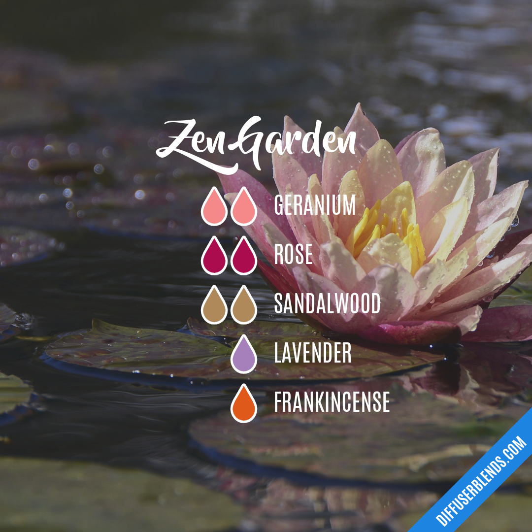 Blend Recipe 2 Drops Geranium 2 Drops Rose 2 Drops Sandalwood 1 Drop Lavende Essential Oil Mixes Essential Oils Aromatherapy Essential Oil Diffuser Recipes