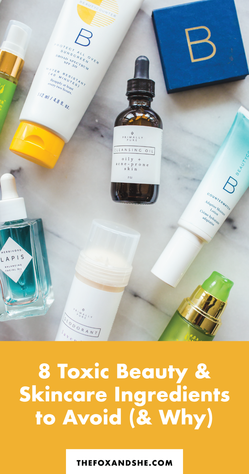 8 Toxic Skincare Ingredients to Avoid in 2020 (With images