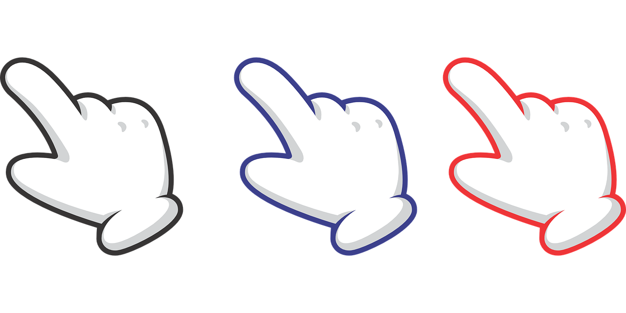 Finger Indication Cursor Free vector graphic on Pixabay