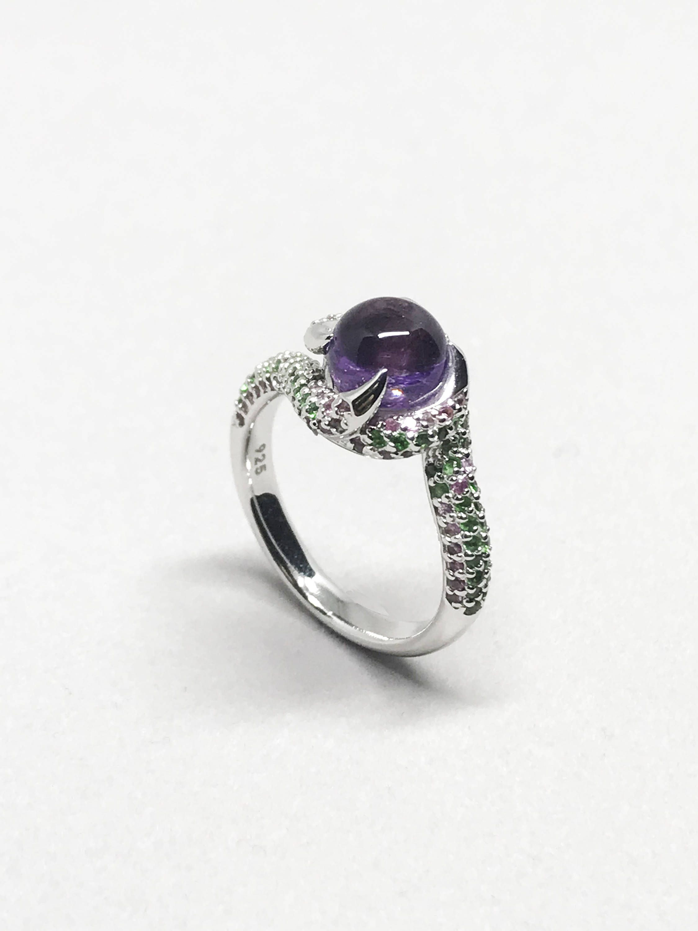 amethyst arrival amatist sterling with rings new jewelry ring cat amethist engagement collections products silver