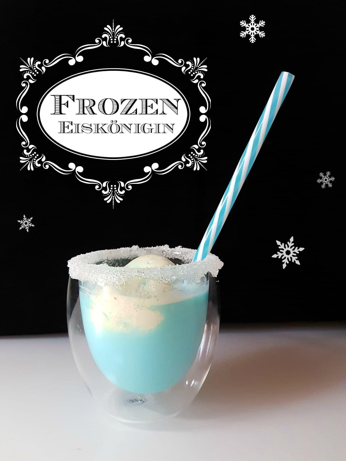 blauer kindercocktail frozen eisk nigin party rezept f r kinder kindergeburtstag. Black Bedroom Furniture Sets. Home Design Ideas