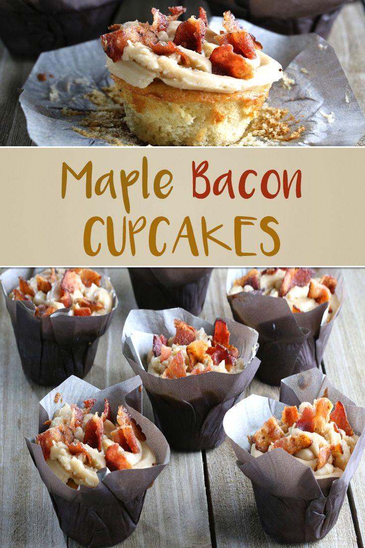 Maple Bacon Cupcakes #cupcakesrezepte