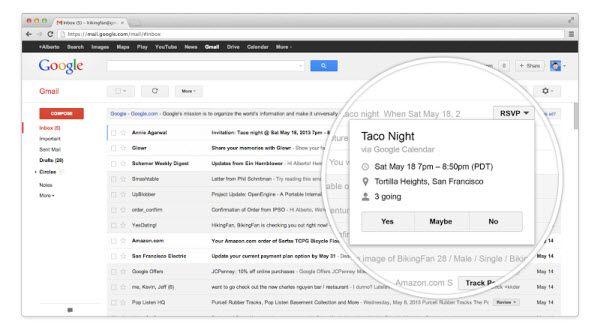 Nuevos botones para gmail!