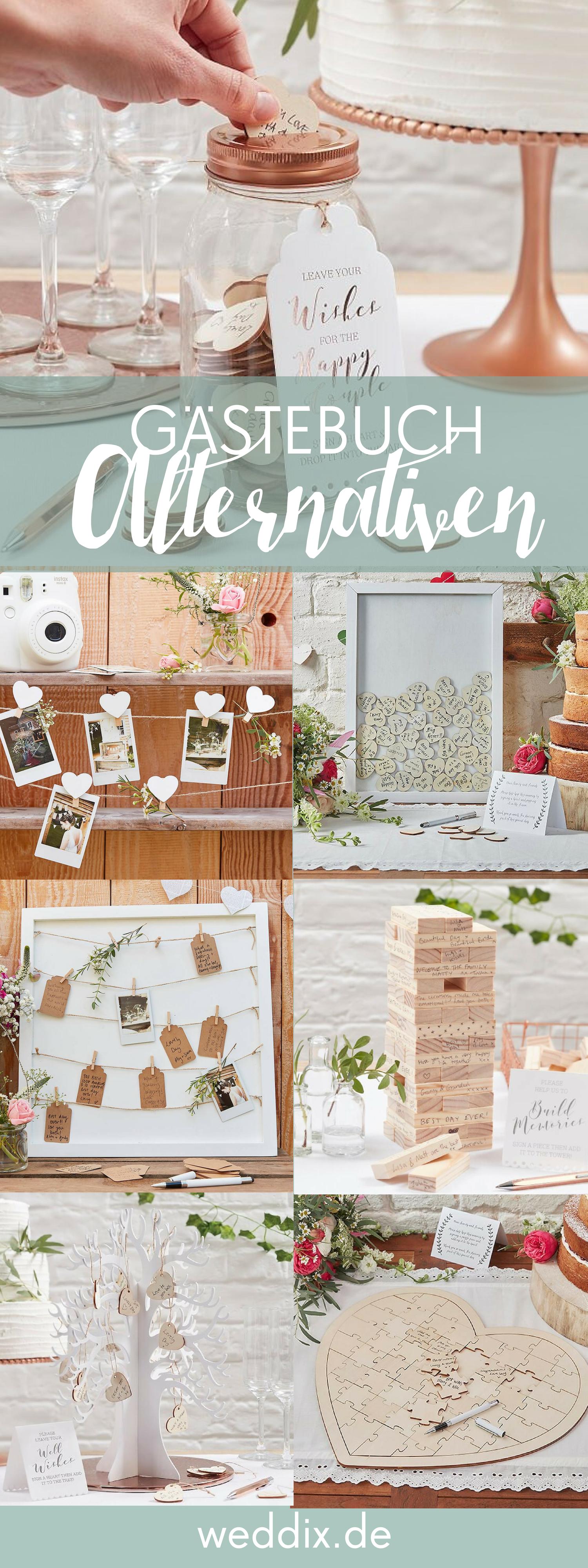 Es muss ja nicht immer ein Buch sein: Diese Gästebuch  Alternativen sind kreativ und wunderschön! #gästebuch #hochzeit #gästebuchalternativen #ideen #inspiration