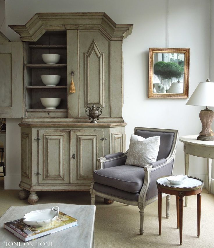 black and white french settee - Google Search