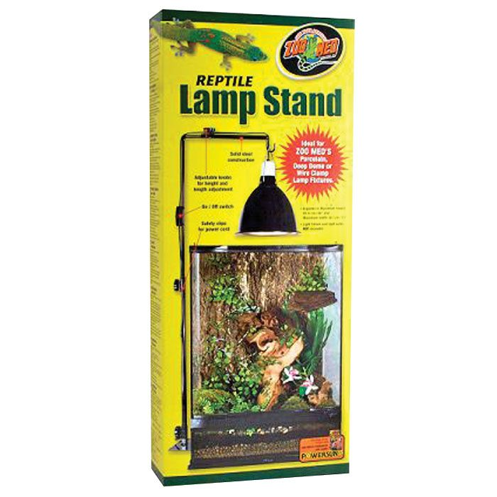 Repti Lamp Stand | Suspend Your Reptileu0027s Metal Dome Or Basket Lamps Avoid  Accidentally Knocking