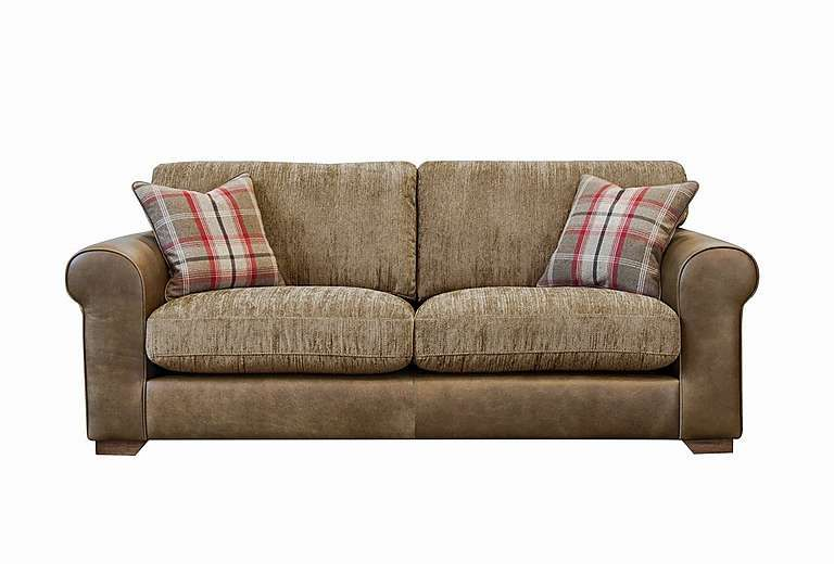 Highland 3 Seater Leather Sofa