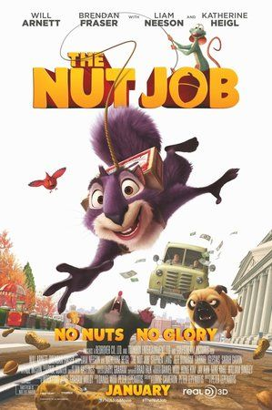 The Nut Job (2014) HDRip Xvid AVI 650MB Free Download
